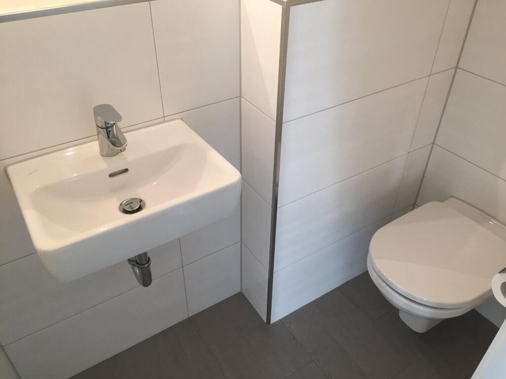 Siliconfugen im Badezimmer